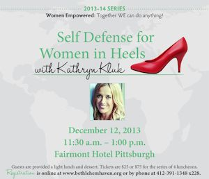 Self Defense for Women in Heels