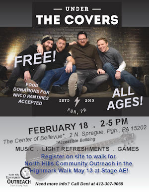 "NHCO Presents Free Concert With ""Under the Covers"" February 18"